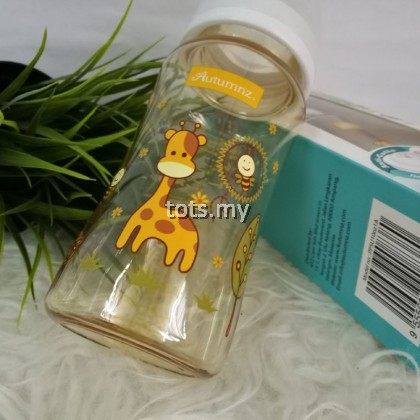 AUTUMNZ PPSU WIDE NECK FEEDING BOTTLE 10OZ/300 ML - JOVIAL GIRAFFE