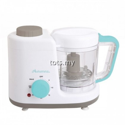 AUTUMNZ 2-IN-1 BABY FOOD PROCESSOR (STEAM & BLEND) *TURQUOISE*