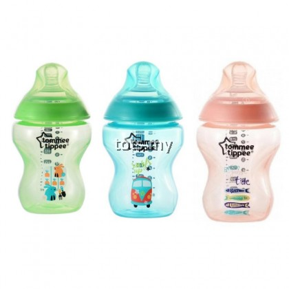 TOMMEE TIPPEE TINTED DECORATED 9OZ/260ML