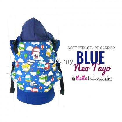 NANA BABY CARRIER STANDARD SIZE - BLUE NEO TAYO