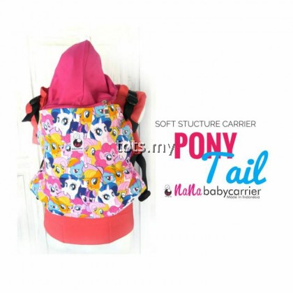 NANA BABY CARRIER STANDARD SIZE - PONY TAIL