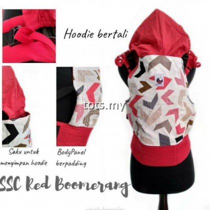 NANA BABY CARRIER STANDARD SIZE - RED BOOMERANG