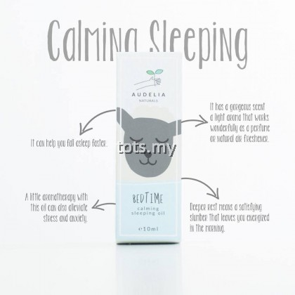 AUDELIA NATURALS - BEDTIME (CALMING SLEEPING OIL)
