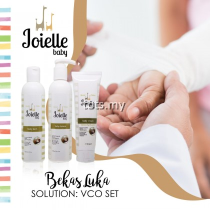 JOIELLE BABY VIRGIN COCONUT OIL SET